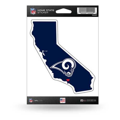 Rico Los Angeles Rams Home State Sticker