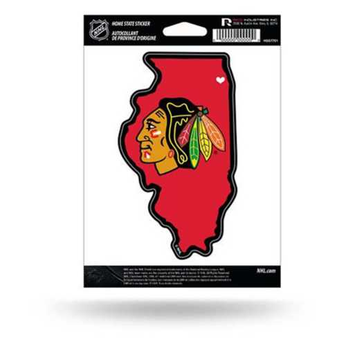 Rico Chicago Blackhawks Home State Sticker