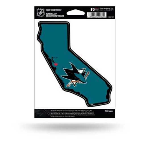 Rico San Jose Sharks Home State Sticker