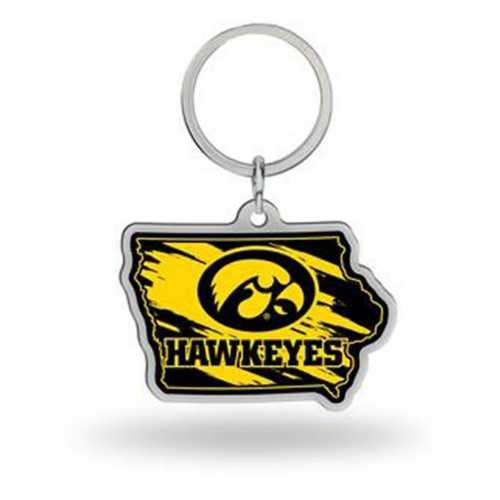 Rico Iowa Hawkeyes Home State Key Chain