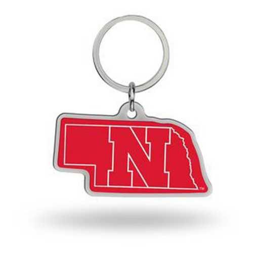 Rico Nebraska Cornhuskers Home State Key Chain
