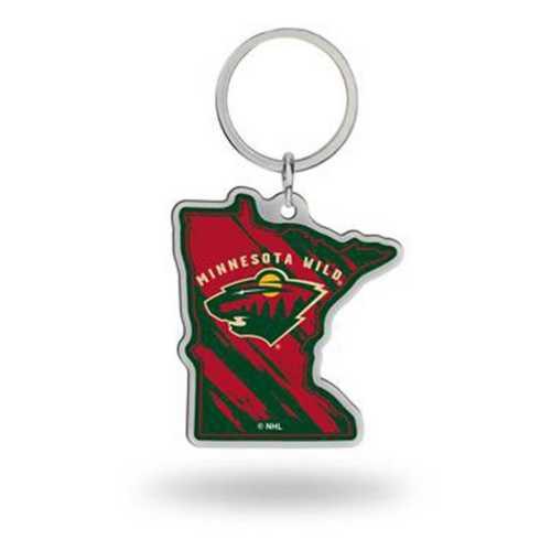 Rico Minnesota Wild Home State Key Chain