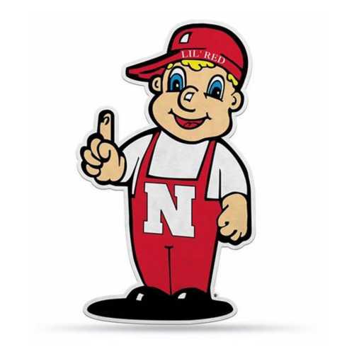 Rico Nebraska Cornhuskers Mascot Pennant