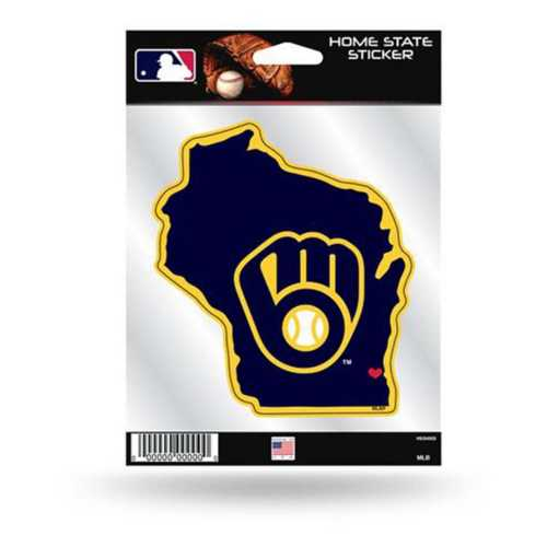 Rico Milwaukee Brewers Home State Sticker