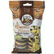 Exclusively Dog S'mores Sandwich Cremes Dog Treats
