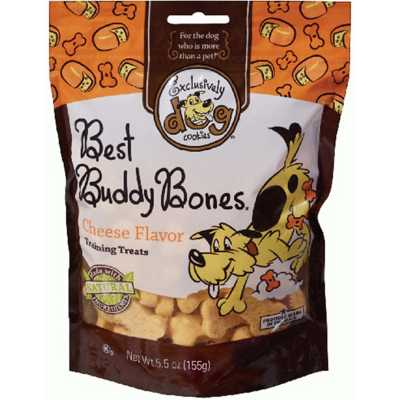Exclusively Dog Cheesy Bacon Flavored Best Buddy Bones Dog Treats