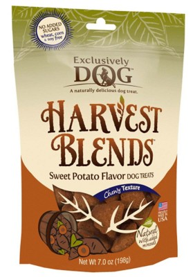 Exclusively Dog Harvest Blends Sweet Potato Flavor Dog Treats