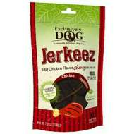 Exclusively Dog Jerkeez BBQ Chicken Flavor Chewy Dog Treats