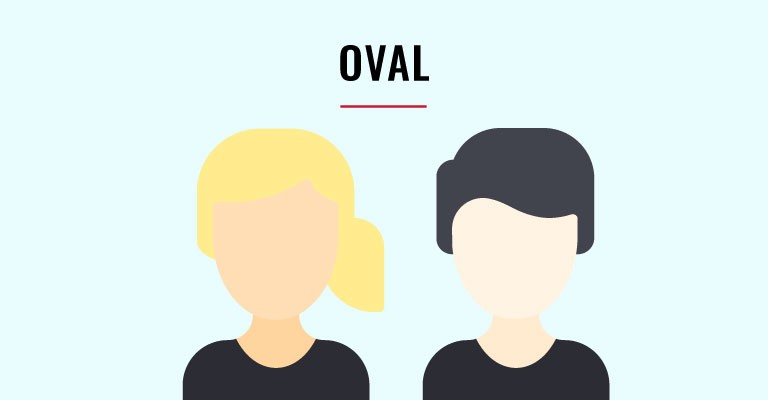 oval face shapes