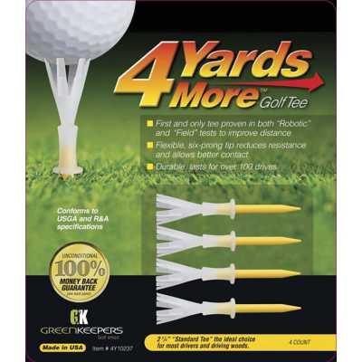 4 Yards More 2-3/4 Golf Tee