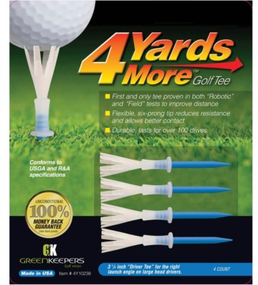 Charter Products 4 Yards More 3-1/4 Golf Tee