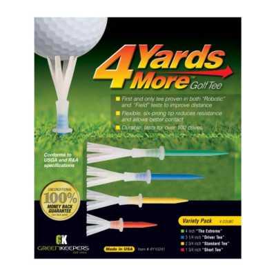 4 Yards More Golf Tee Variety Pack