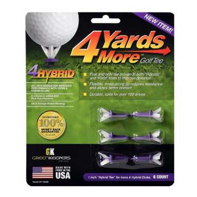4 Yards More 1 inch Hybrid Golf Tee