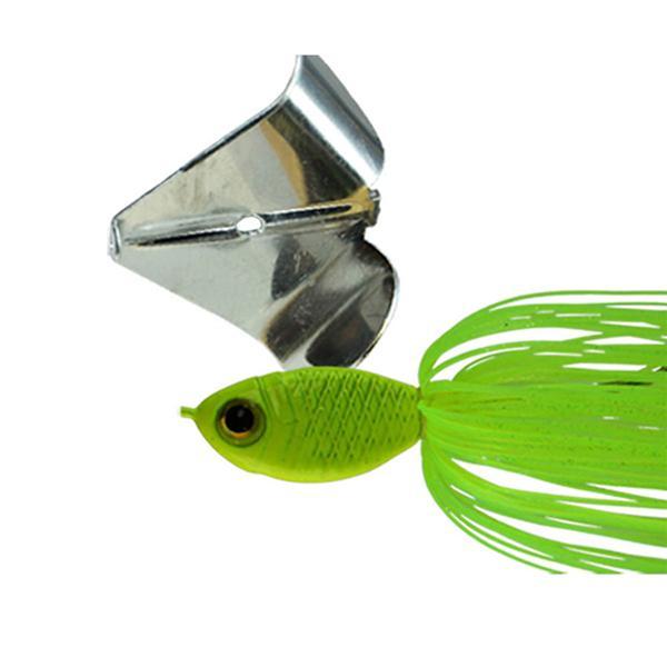 Chartreuse/Nickel Blade