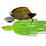 Picasso Inviz Wire Tandem Thunder Willow Spinnerbait