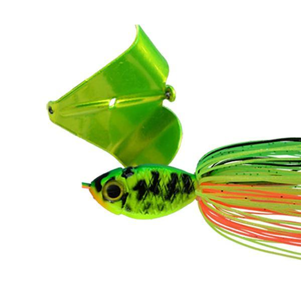 Firetiger/Chartreuse Blade