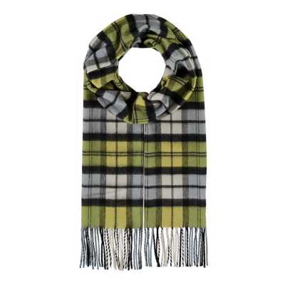 Women's V.Fraas Bold Plaid Scarf