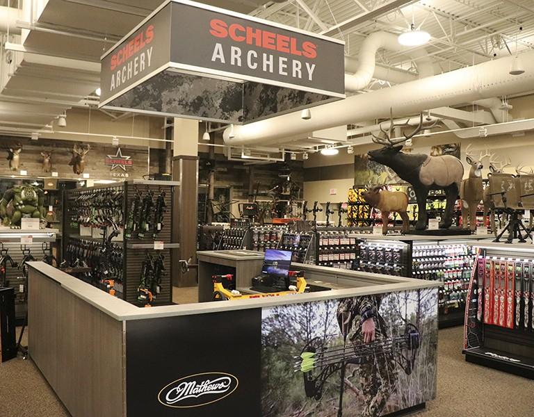 SCHEELS archery shop