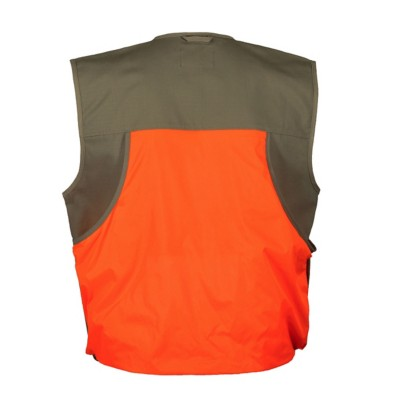 Men's Gamehide Shelterbelt Mid-Weight Blaze Orange Upland Vest