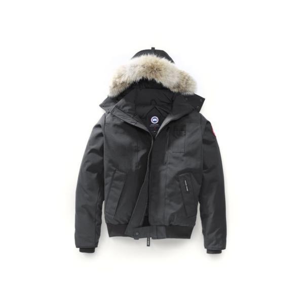 canada goose borden bomber graphite men's jackets