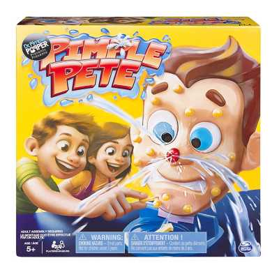 Pimple Pete Family Game