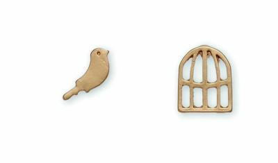 Women's Howard's Bird Cage Gold Earrings