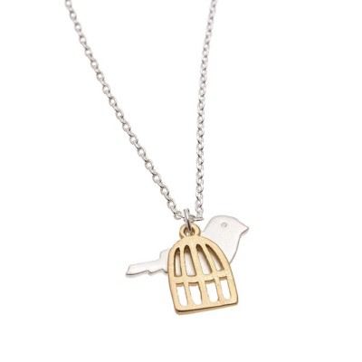 Women's Howard's Bird and Cage Necklace