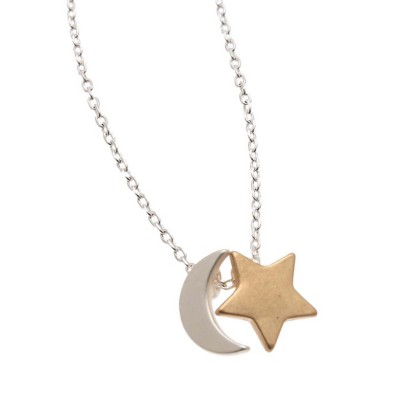 Women's Howard's Star and Moon Necklace
