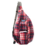 Women's Kavu Plaid Rope Bag