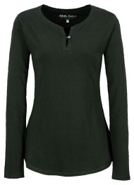 Women's North River Split Neck Henley