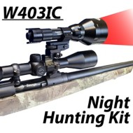 Wicked Hunting Light W403IC Red LED