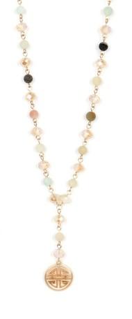 Women's Ethel & Myrtl  Lucky Charm Necklace