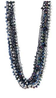 Women's Ethel & Myrtl Blue Beads Necklace