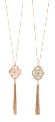 Women's Ethel & Myrtle Floral Shell Necklace