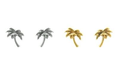 Women's Ethel & Myrtle Palm Tree Earring Set