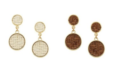 Women's Ethel & Myrtle Double Circle Earring Set
