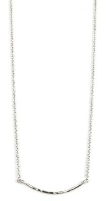 Women's Ethel & Myrtle Curved Bar Necklace