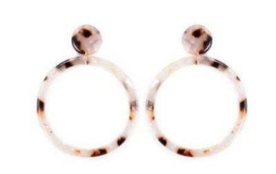 Women's Ethel And Myrtle Circle Animal Earrings
