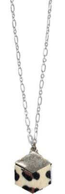 Women's Ethel And Myrtle Leopard Wood Necklace