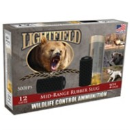 Lightfield 12ga 2 Mid-Range Rubber Slug 5/bx