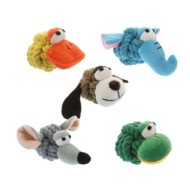 Multipet Rope Heads Dog Toy