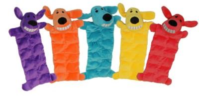Multipet Loofa Squeaker Mat Dog Toy