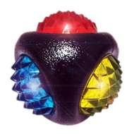 Multipet Doglucent TPR Dental Diamond Ball Dog Toy