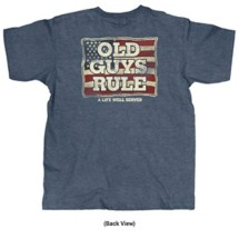 Old Guys Rule A Life Well Served T-Shirt