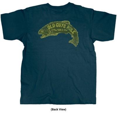 Old Guys Fish Sign T-Shirt