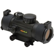 Tru Glo Red Dot 30mm Dual Color Single Reticle