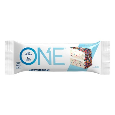 Oh Yeah ONE Birthday Cake Protein Bar