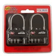SKB TSA Cable Padlock 2 Pack