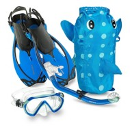 Youth Head Sea Pals Puffer Snorkel Set