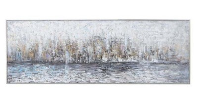 Uttermost Company City Reflection Hand Painted Canvas